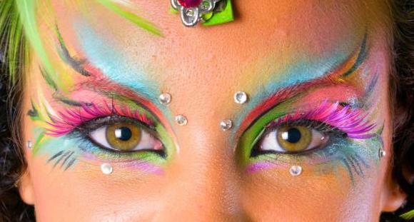 Resultado de imagem para halloween makeup fairy eyes